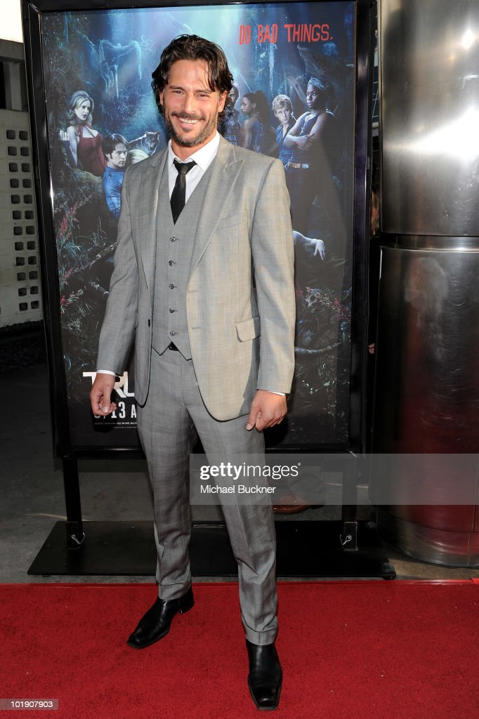 Actor Joe Manganiello arrives at the premiere of HBO's 'True Blood' Season 3 at The Cinerama Dome on June 8, 2010 in Hollywood, California.