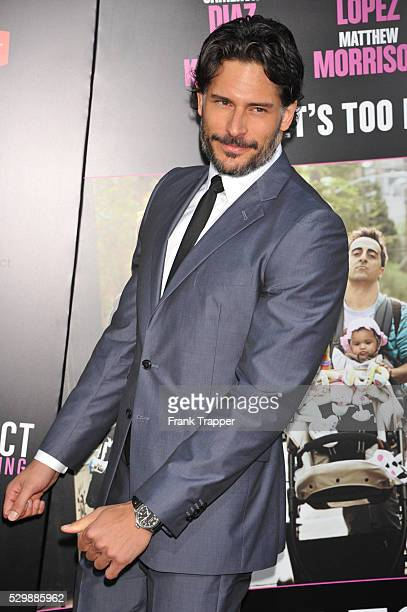 Actor Joe Manganiello arrives at the premiere of What To Expect When Your Expecting premiere held at Grauman's Chinese Theater