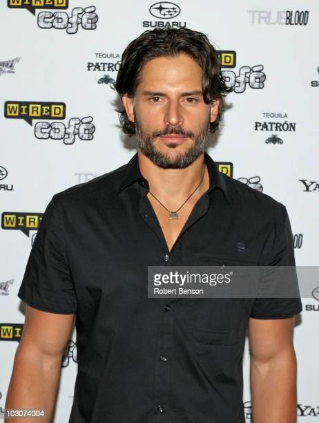 Actor Joe Manganiello attends Day 3 of the WIRED Cafe at Comic-Con 2010 held at the Omni Hotel on July 24, 2010 in San Diego, California.