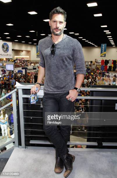 """Actor Joe Manganiello attends HBO's """"True Blood"""" Cast Autograph Signing at San Diego Convention Center on July 20, 2013 in San Diego, California."""
