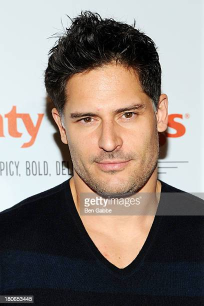 Actor Joe Manganiello attends McDonald's New Mighty Wings Launch Event at Moynihan Station on September 15 2013 in New York City