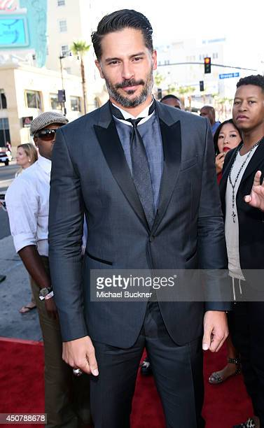 Actor Joe Manganiello attends Premiere Of HBO's True Blood Season 7 And Final Season at TCL Chinese Theatre on June 17 2014 in Hollywood California