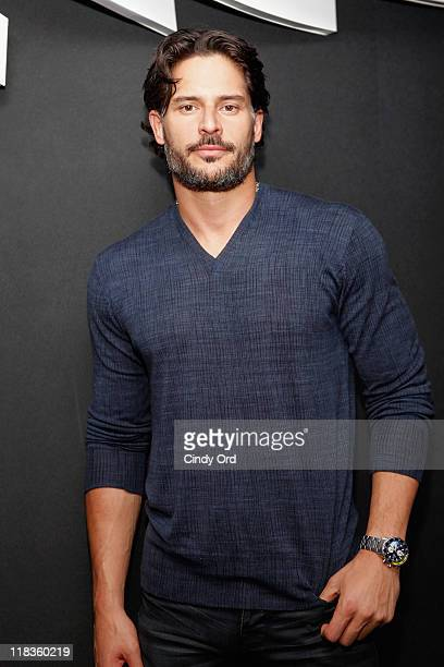 Actor Joe Manganiello attends Summer Jam DJ Series At Living Room Bar Terrace at W New York Downtown on July 6 2011 in New York City