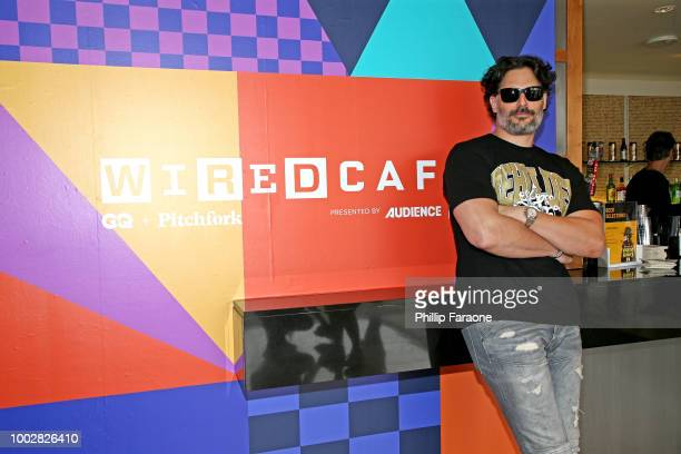 Actor Joe Manganiello attends the 2018 WIRED Cafe at Comic Con presented by ATT Audience Network at Omni Hotel on July 20 2018 in San Diego California