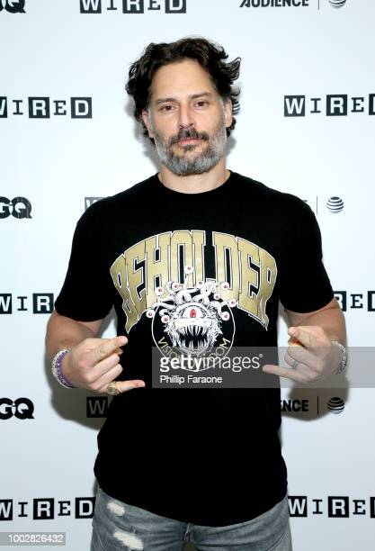 Actor Joe Manganiello attends the 2018 WIRED Cafe at Comic Con presented by AT&T Audience Network at Omni Hotel on July 20, 2018 in San Diego,...