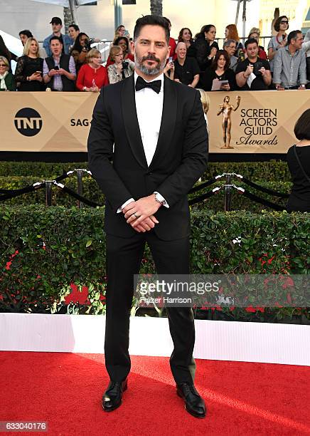 Actor Joe Manganiello attends The 23rd Annual Screen Actors Guild Awards at The Shrine Auditorium on January 29 2017 in Los Angeles California...
