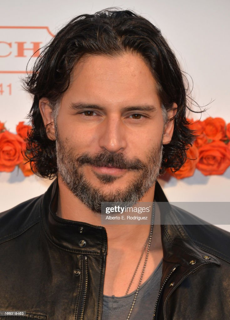 Actor Joe Manganiello attends the 3rd Annual Coach Evening to benefit Children's Defense Fund at Bad Robot on April 10, 2013 in Santa Monica, California.
