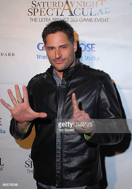 Actor Joe Manganiello attends the 3rd Annual Saturday Night Spectacular hosted by Kevin Costner and Michael Strahan and presented by American...