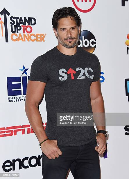 Actor Joe Manganiello attends the 4th Biennial Stand Up To Cancer A Program of The Entertainment Industry Foundation at Dolby Theatre on September 5...