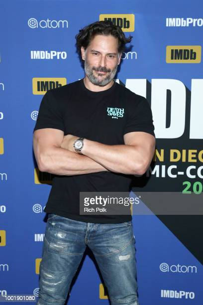 Actor Joe Manganiello attends the #IMDboat At San Diego ComicCon 2018 Day One at The IMDb Yacht on July 19 2018 in San Diego California