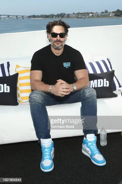 Actor Joe Manganiello attends the #IMDboat At San Diego Comic-Con 2018: Day One at The IMDb Yacht on July 19, 2018 in San Diego, California.