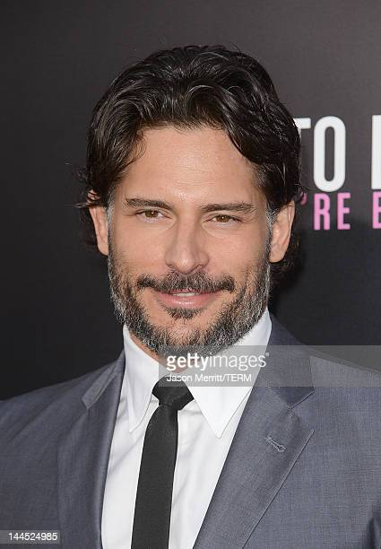 Actor Joe Manganiello attends the Los Angeles premiere of 'What To Expect When You're Expecting' at Grauman's Chinese Theatre on May 14 2012 in...