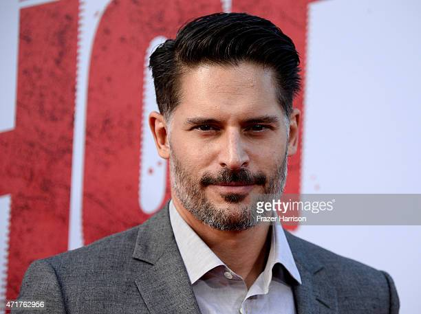 Actor Joe Manganiello attends the Premiere of New Line Cinema And MetroGoldwynMayer's 'Hot Pursuit' at TCL Chinese Theatre on April 30 2015 in...