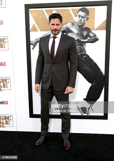 Actor Joe Manganiello attends the premiere of Warner Bros Pictures' 'Magic Mike XXL' at TCL Chinese Theatre IMAX on June 25 2015 in Hollywood...