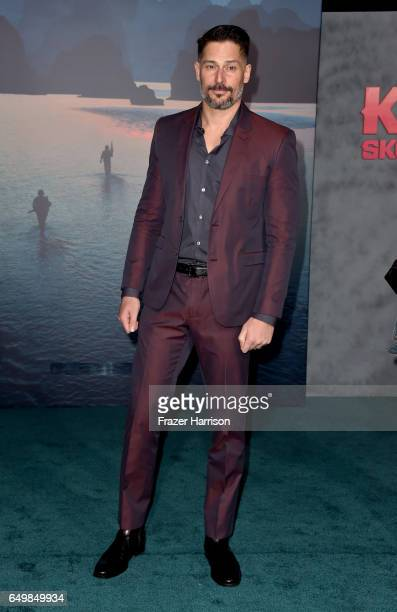Actor Joe Manganiello attends the premiere of Warner Bros Pictures' Kong Skull Island at Dolby Theatre on March 8 2017 in Hollywood California