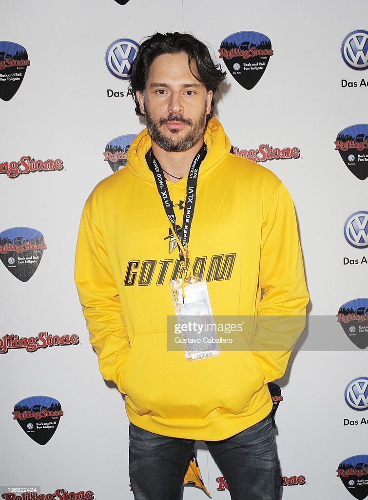 Actor Joe Manganiello attends The Rolling Stone Volkswagen Rock & Roll Fan Tailgate Party at The Crane Bay on February 5, 2012 in Indianapolis, Indiana.