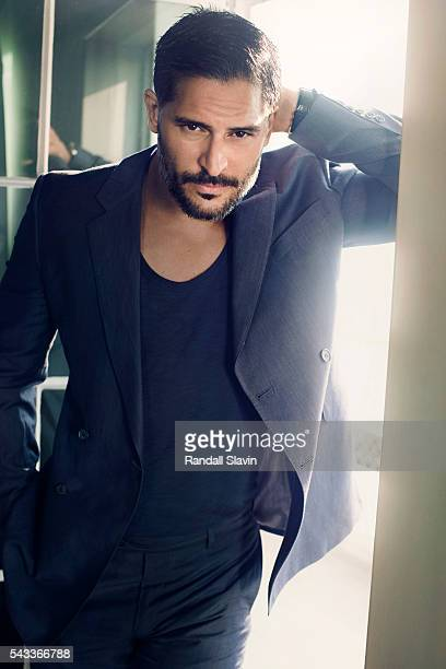 Actor Joe Manganiello is photographed for Alexa on July 18 2013 in Santa Monica California