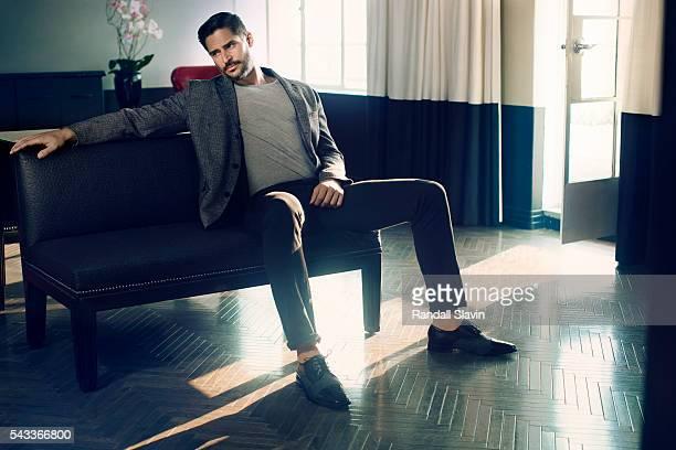 Actor Joe Manganiello is photographed for Alexa on July 18 2013 in Santa Monica California