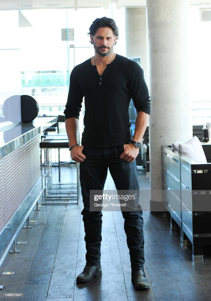 Actor Joe Manganiello poses for a portrait at the press junket for his new film 'Magic Mike' at the Thompson Hotel on June 14, 2012 in Toronto, Canada.