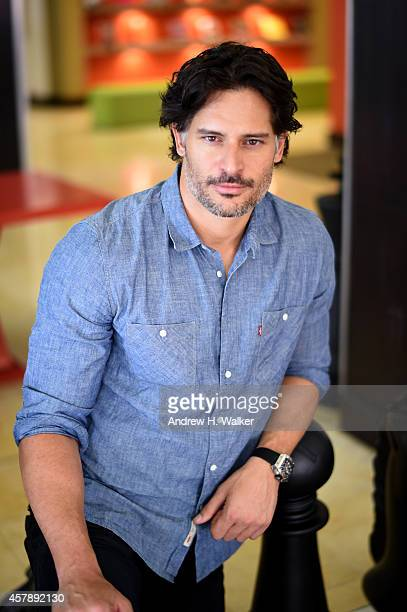 Actor Joe Manganiello poses for a portrait during Day Two of the 17th Annual Savannah Film Festival presented by SCAD on October 26 2014 in Savannah...