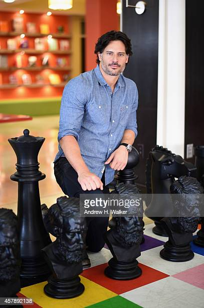 Actor Joe Manganiello poses for a portrait during Day Two of the 17th Annual Savannah Film Festival presented by SCAD on October 26, 2014 in...