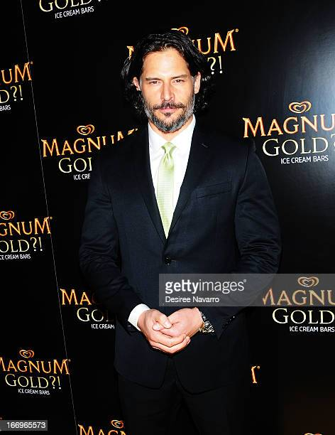 Actor Joe Manganiello TV's sexiest man attends the screening of As Good As Gold during the 2013 Tribeca Film Festival at Gotham Hall on April 18 2013...