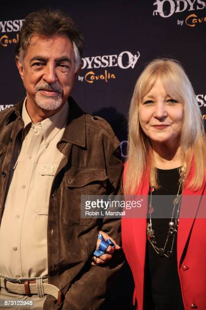 Actor Joe Mantegna and wife Arlene Vrhel attend Cavalia Odysseo Celebrity Premiere on November 11 2017 in Camarillo California