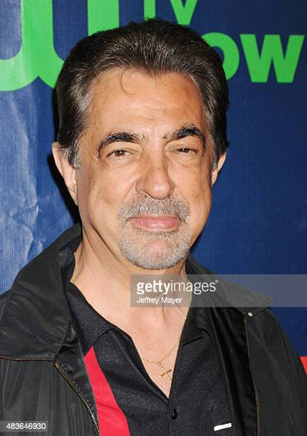 Actor Joe Mantegna arrives at the CBS CW And Showtime 2015 Summer TCA Party at Pacific Design Center on August 10 2015 in West Hollywood California