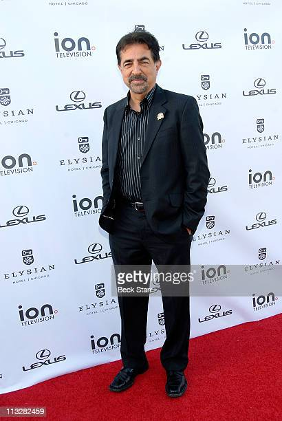 """Actor Joe Mantegna arrives to celebrate getting his star on the """"Hollywood Walk Of Fame"""" at The Kress on April 29, 2011 in Hollywood, California."""