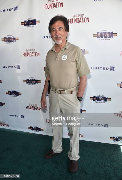 Actor Joe Mantegna attends the SAGAFTRA Foundation 8th Annual LA Golf Classic Fundraiser at Lakeside Golf Club on June 12 2017 in Los Angeles...