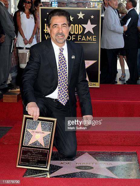 Actor Joe Mantegna during Hollywood Walk of Fame induction ceremony honoring actor Joe Mantegna on April 29, 2011 in Hollywood, California.