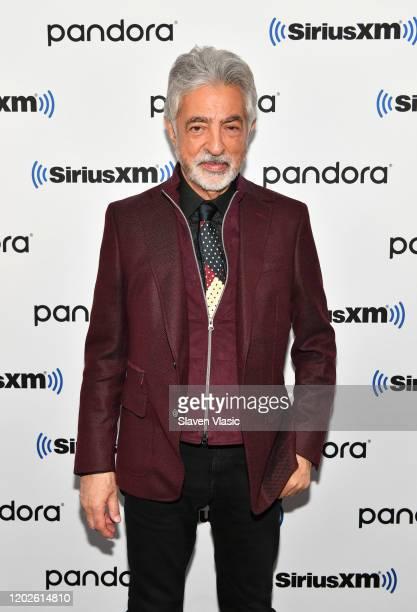 Actor Joe Mantegna visits SiriusXM Studios on January 28, 2020 in New York City.