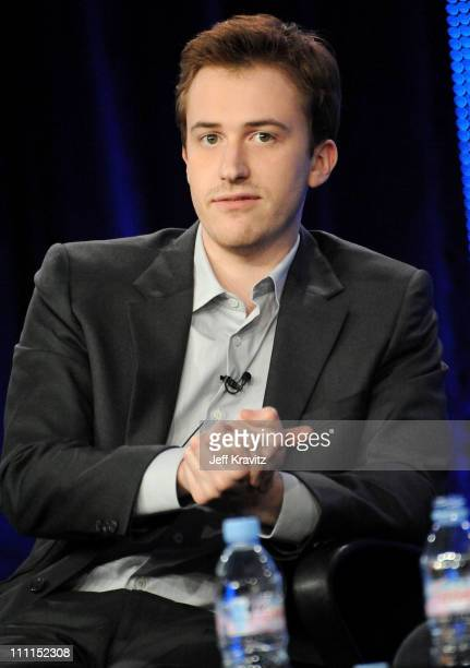 Actor Joe Mazzello of The Pacific speaks during the HBO portion of the 2010 Television Critics Association Press Tour at the Langham Hotel on January...