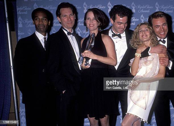Actor Joe Morton actor Cotter Smith actress Debrah Farentino actor Jon Tenney actress Sarah Jessica Parker and actor James Wilder attend the 17th...