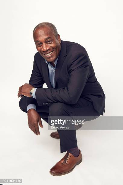 Actor Joe Morton of CBS's 'God Friended Me' poses for a portrait during the 2018 Summer Television Critics Association Press Tour at The Beverly...
