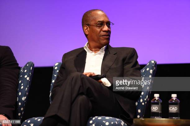 Actor Joe Morton speaks at a QA for 'Scandal' during Day Two of the aTVfest 2017 presented by SCAD at SCADshow on February 3 2017 in Atlanta Georgia