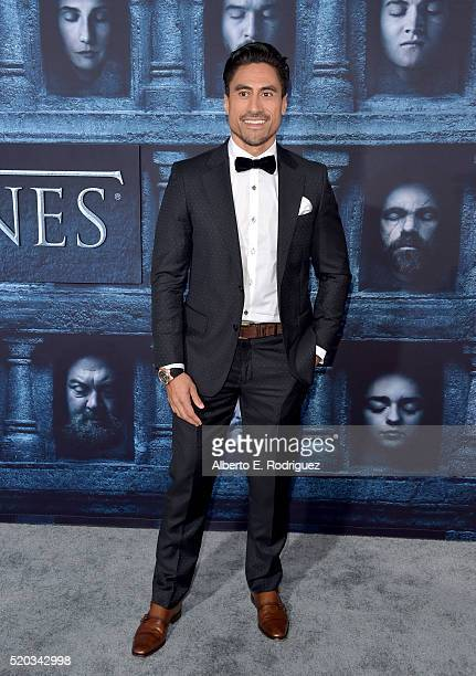 Actor Joe Naufahu attends the premiere of HBO's 'Game Of Thrones' Season 6 at TCL Chinese Theatre on April 10 2016 in Hollywood California