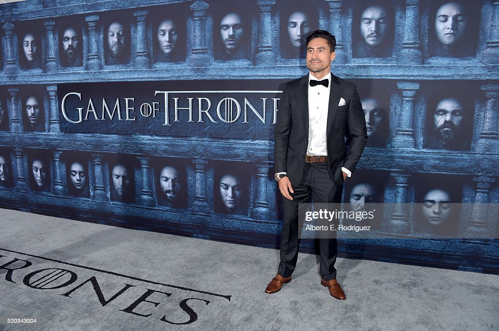 Actor Joe Naufahu attends the premiere of HBO's 'Game Of Thrones' Season 6 at TCL Chinese Theatre on April 10, 2016 in Hollywood, California.