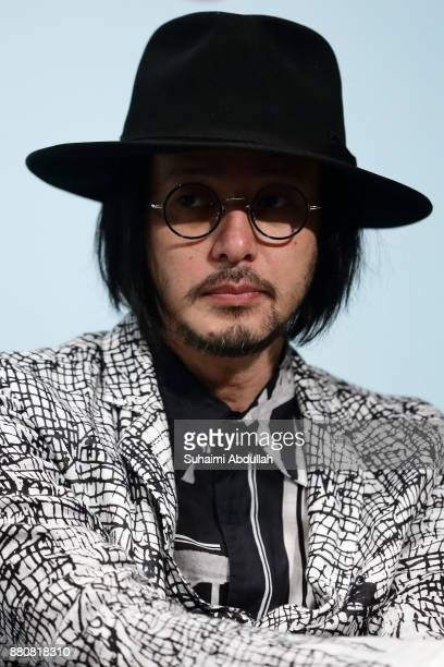 Actor Joe Odagiri attends the 'In Conversation The White Girl' during The Singapore International Film Festival at the ArtScience Museum on November...