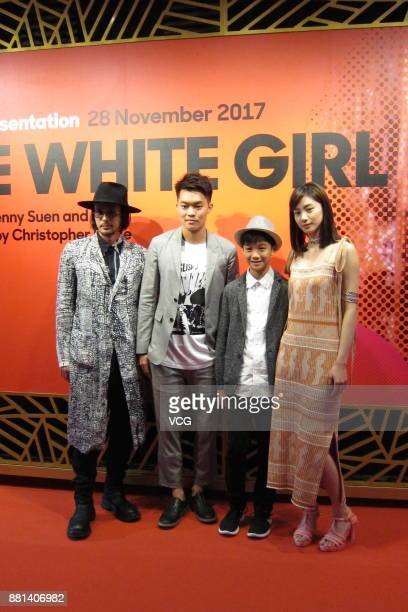 Actor Joe Odagiri attends the 'In Conversation The White Girl' press conference during the Singapore International Film Festival at the ArtScience...