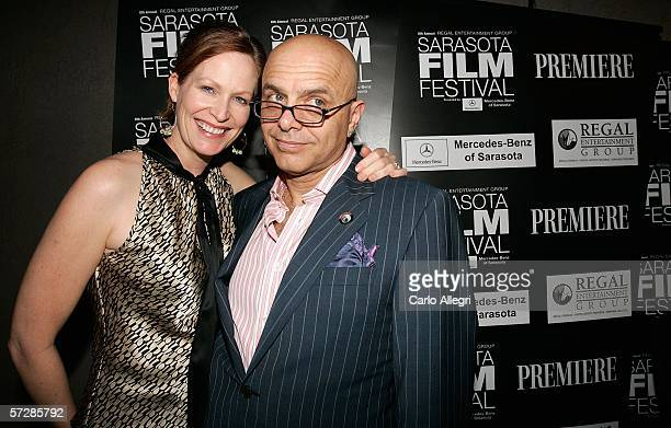 Actor Joe Pantoliano and his wife Nancy Sheppard attend the Night Of 1000 Stars during the Sarasota Film Festival at Michael's On East April 7 2006...