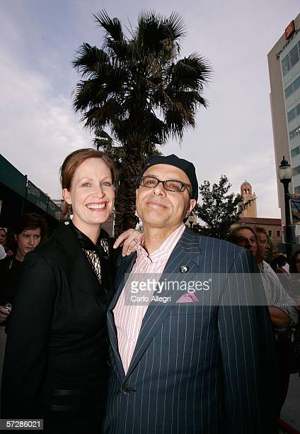 Actor Joe Pantoliano and his wife Nancy Sheppard attend the red carpet arrivals for The Amateurs during the Sarasota Film Festival April 7 2006 in...