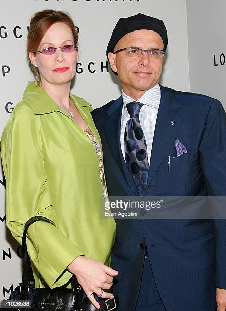 Actor Joe Pantoliano and wife Nancy Sheppard attend the grand opening of the Longchamp US Flagship Store in SOHO May 23 2006 in New York City