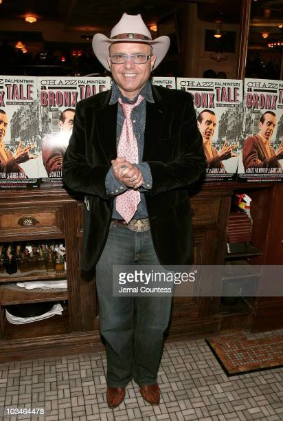 Actor Joe Pantoliano at the afterparty for the opening night Broadway Production of A Bronx Tale at Bond 45 on October 25 2007 in New York City