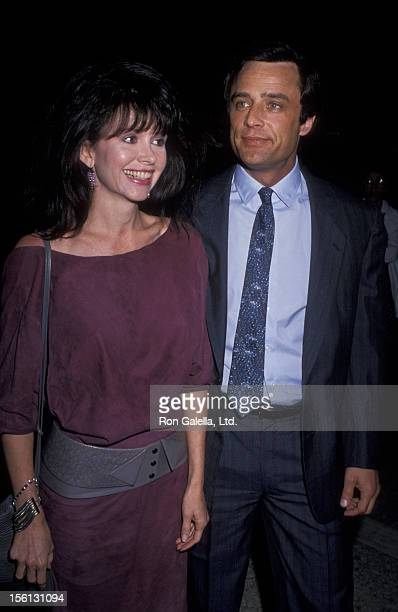 Actor Joe Penny and wife attend the premiere of 'Winter People' on April 13 1989 at the Cineplex Odeon Cinema in Century City California