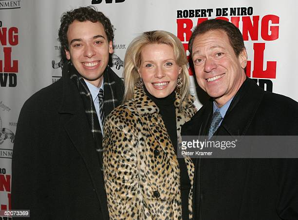 Actor Joe Piscopo wife Kimberly and son Joe Jr attend a special screening of Raging Bull to celebrate the 25th anniversary and DVD release of the...