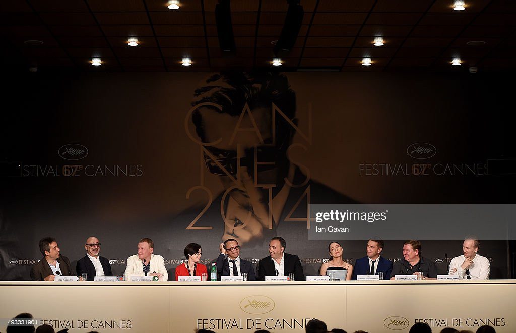 """""""Leviathan"""" Press Conference - The 67th Annual Cannes Film Festival"""