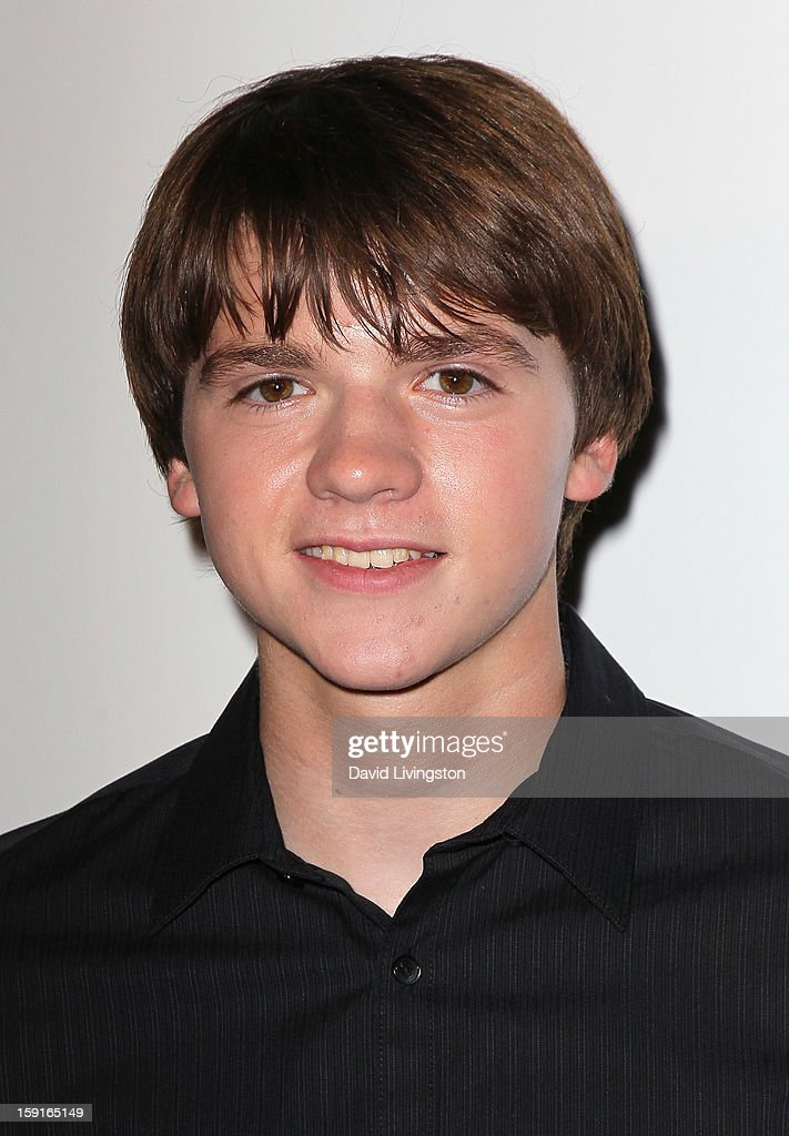 Actor Joel Courtney attends DoSomething.org and Aeropostale celebrating the launch of the 6th Annual 'Teens For Jeans' campaign hosted by Chloe Moretz at Palihouse on January 8, 2013 in West Hollywood, California.