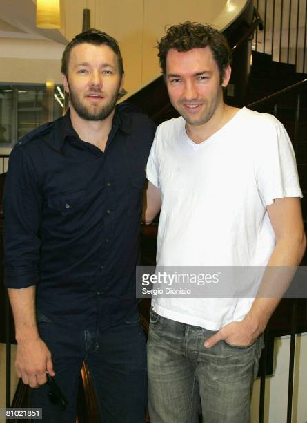 Actor Joel Edgerton and Producer Nash Edgerton pose during the program launch for the Sydney Film Festival at Customs House on May 8, 2008 in Sydney,...