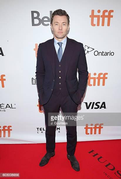 Actor Joel Edgerton arrives at the 2016 Toronto International Film Festival Premiere of Loving at Roy Thomson Hall on September 11 2016 in Toronto...